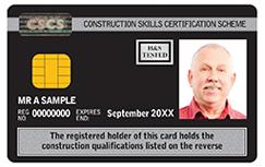 black cscs card