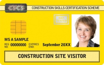 visitor cscs card
