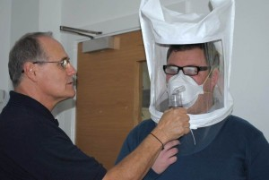 Face fit testing in Bolton
