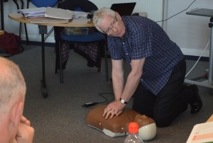 First Aid training in Wigan