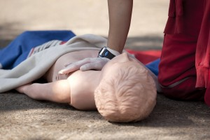 paediatric first aid in Wigan