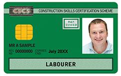 CSCS Skills card
