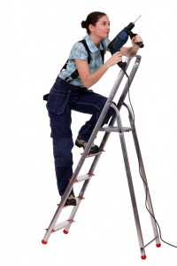 safe use of ladders and step ladders