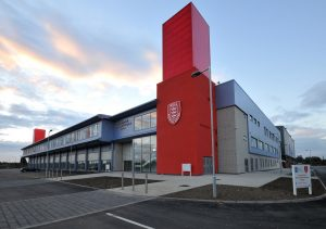 Exterior of 3B Training Hull Venue
