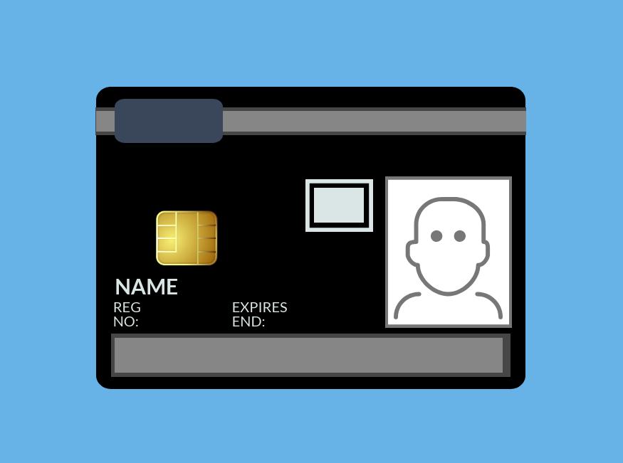 NVQ Level 6 Black Manager Card