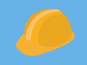 Coloured Hard Hat