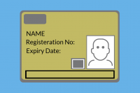 Supervisory Gold CSCS Card