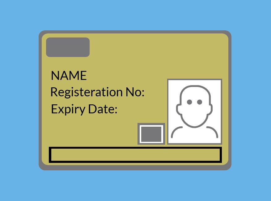 Supervisory Gold CSCS Card