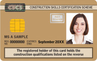 Supervisory CSCS Card