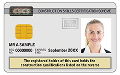 Academically Qualified Person CSCS Card