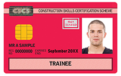 Trainee (craft and operative) CSCS Card