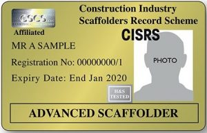 CISRS Advanced Scaffolder