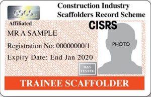 CISRS Trainee Scaffolder