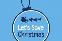 Let's Save Christmas Logo
